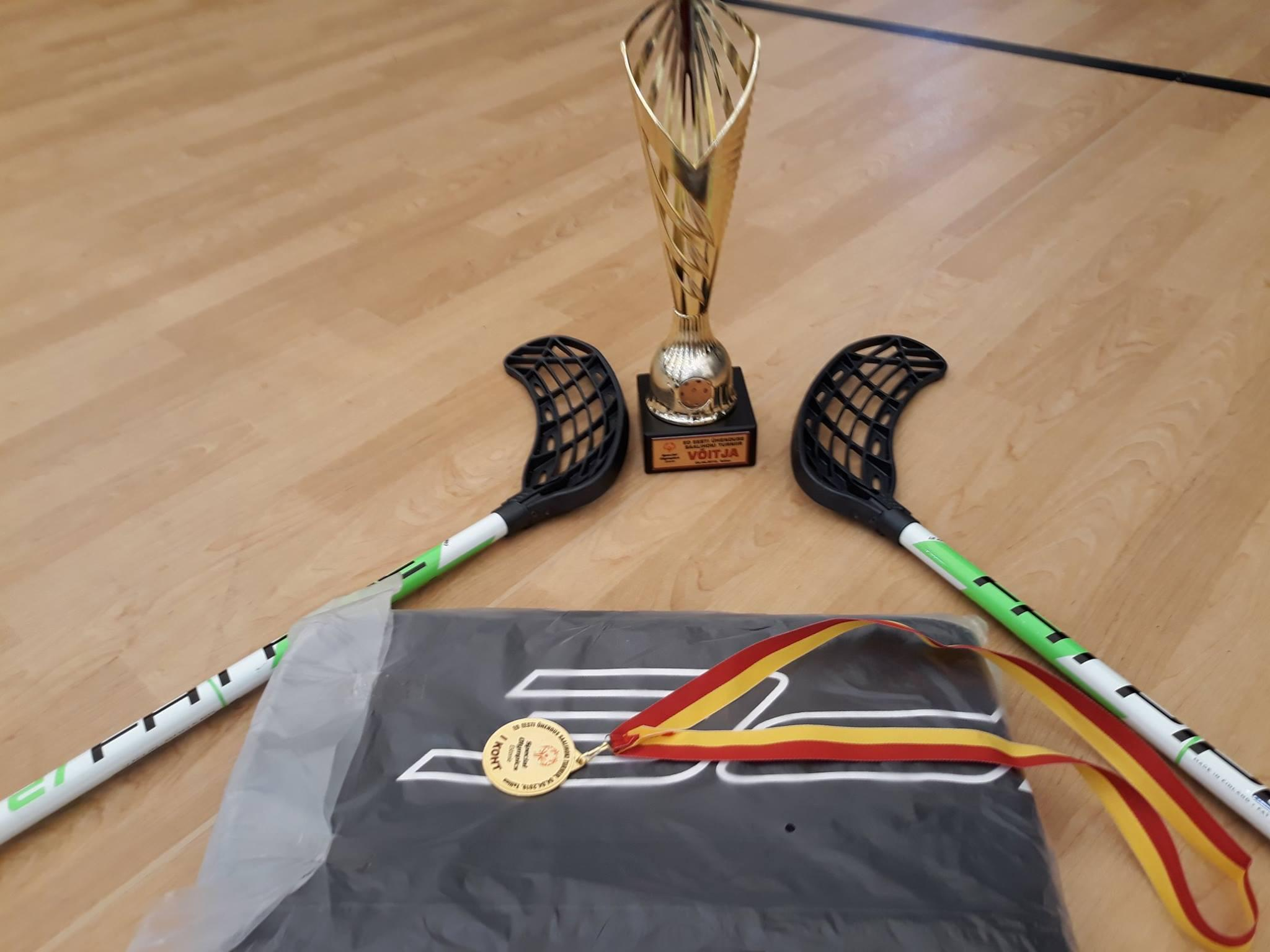 Saalihoki eriolümpial saavutatud auhinnad.