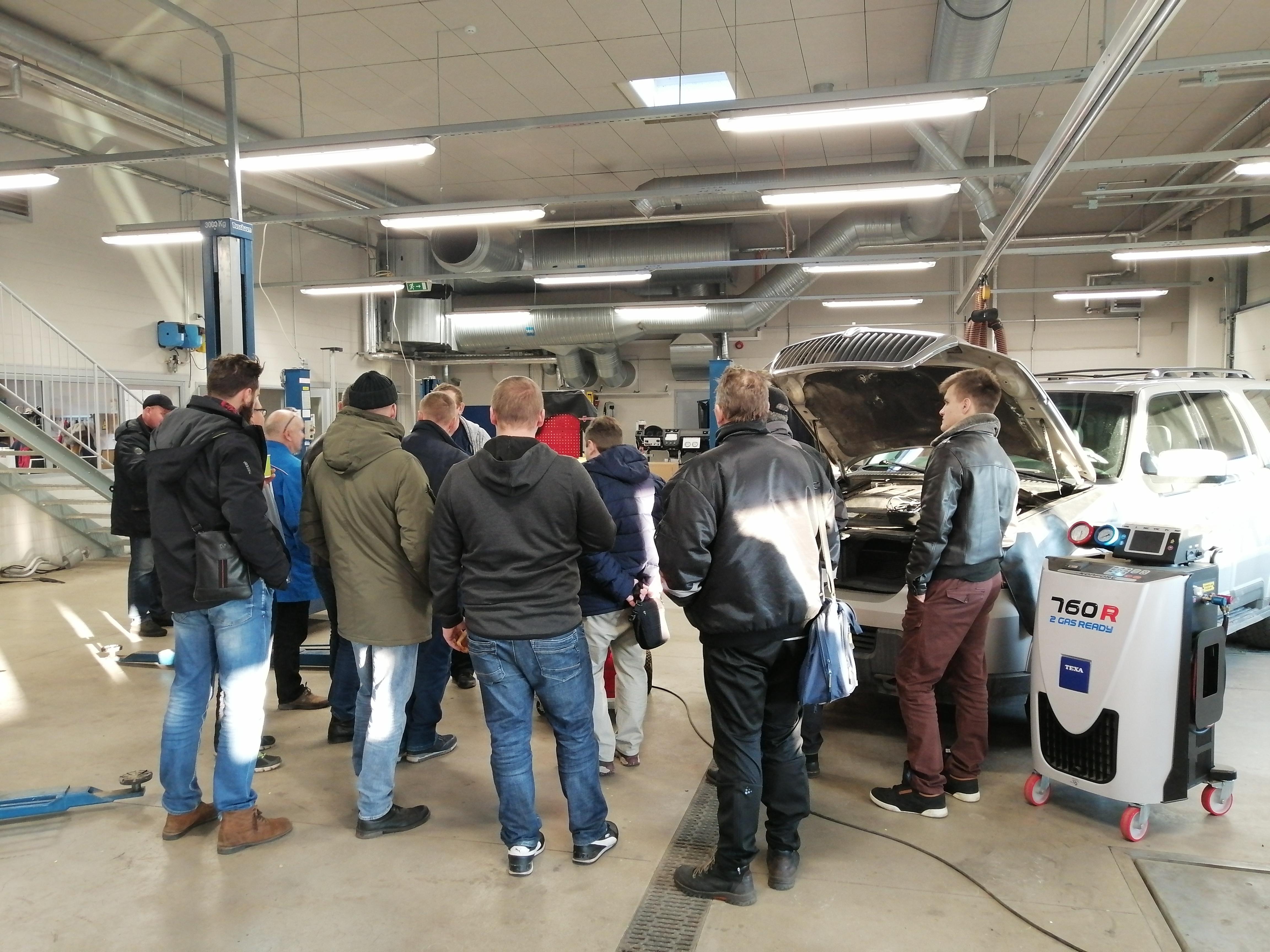 mootorsõiduki kliimaseadmete käitleja pädevuskoolitus Järvamaa Kutsehariduskeskuses