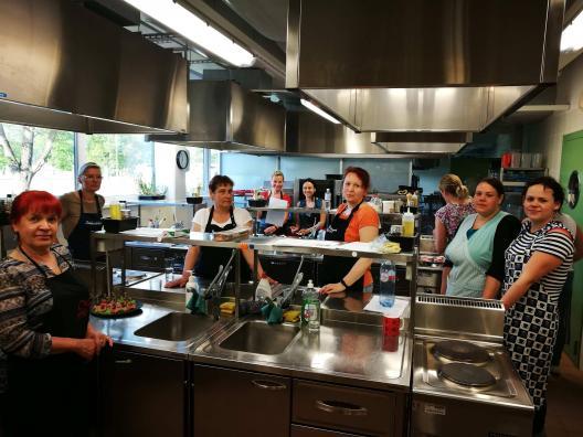 Külmade suupistete valmistamise täienduskoolitus Järvamaa Kutsehariduskeskuses